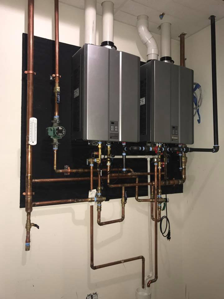 commercial water heater systems